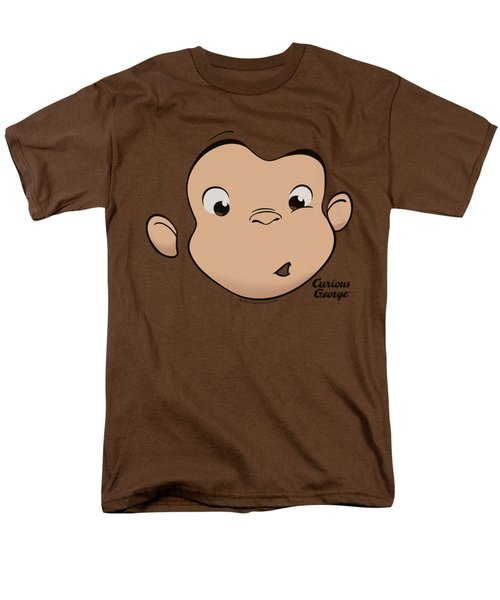 Curious George - George Face Men's T-Shirt  (Regular Fit) by Brand A