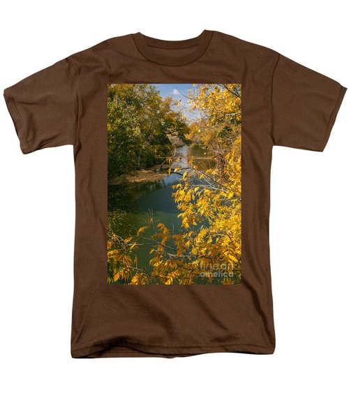 Early Fall On the Navasota T-Shirt by Robert Frederick