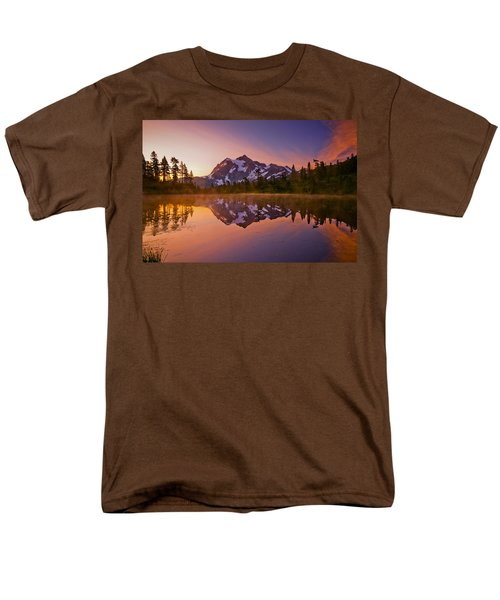 Early Morning at Picture Lake T-Shirt by Darren  White