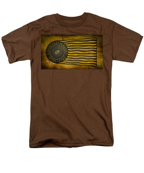 Edmond Halley Memorial Men's T-Shirt  (Regular Fit) by Stephen Stookey