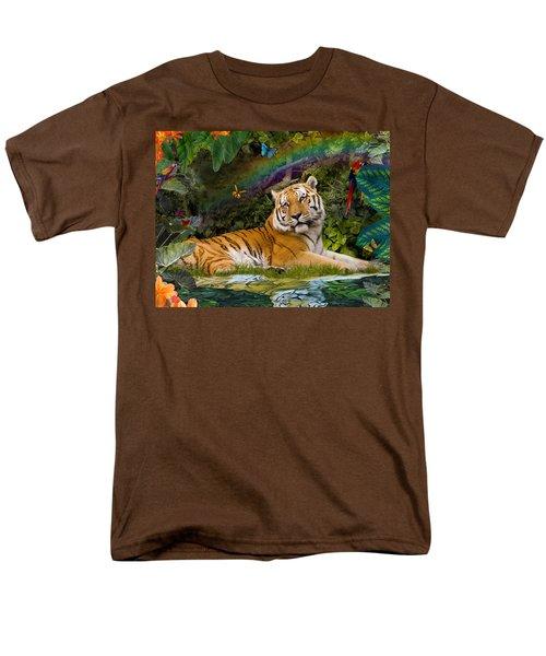 Enchaned Tigress T-Shirt by Alixandra Mullins