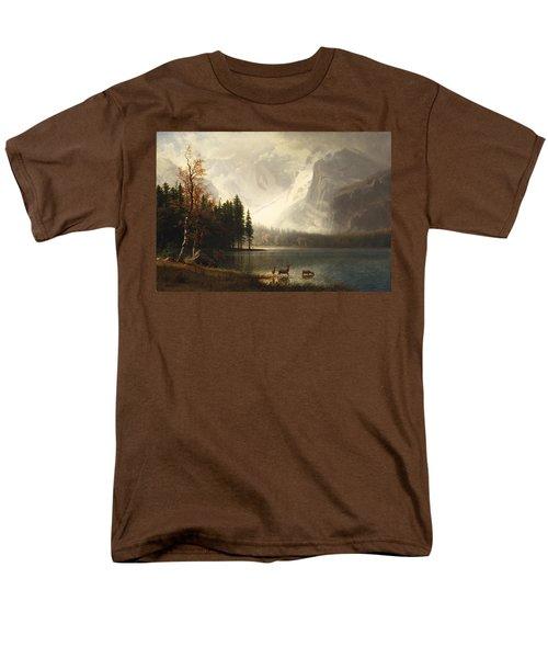Estes Park Colorado Whytes Lake T-Shirt by Albert Bierstadt