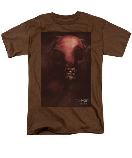 Evil Greek Mythology Minotaur Men's T-Shirt  (Regular Fit) by Jorgo Photography - Wall Art Gallery