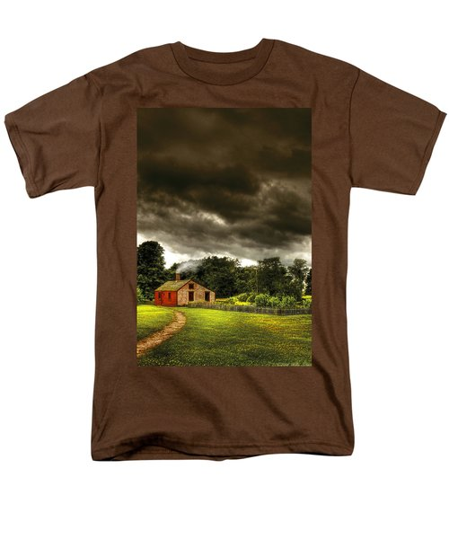Farm - Barn - Storms a comin T-Shirt by Mike Savad