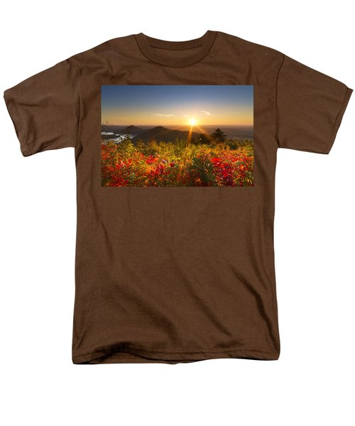 Fire on the Mountain T-Shirt by Debra and Dave Vanderlaan