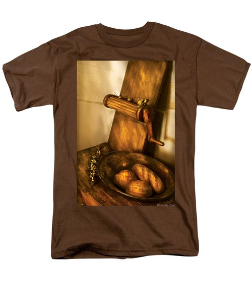 Food -  Bread  T-Shirt by Mike Savad