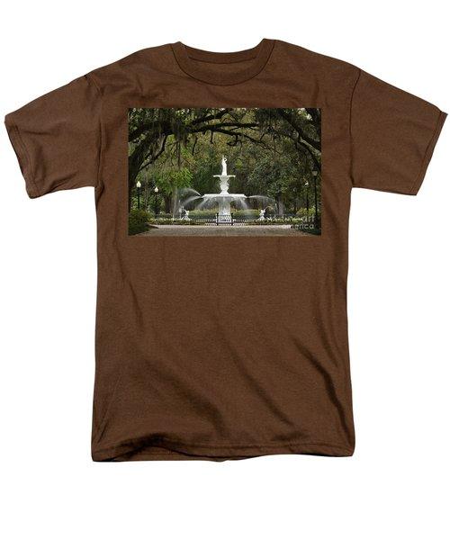 Forsyth Park Fountain - D002615 T-Shirt by Daniel Dempster