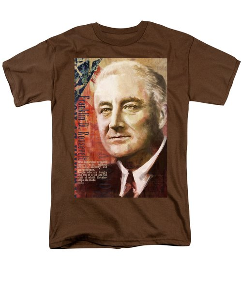 Franklin D. Roosevelt T-Shirt by Corporate Art Task Force