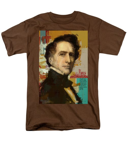 Franklin Pierce T-Shirt by Corporate Art Task Force