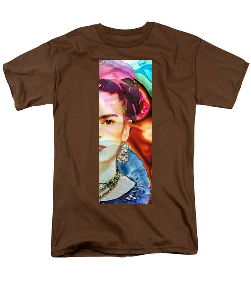 Frida Kahlo Art - Seeing Color T-Shirt by Sharon Cummings