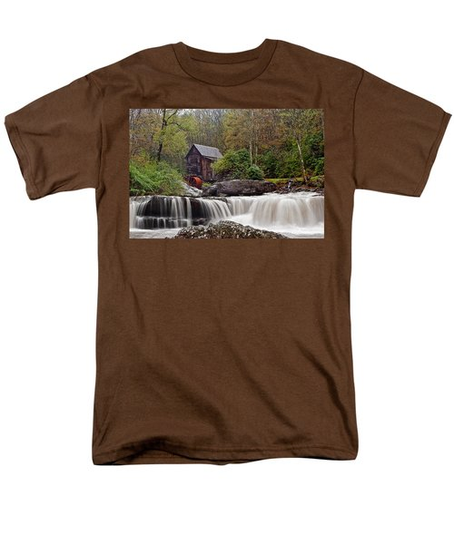 Glade Creek waterfall T-Shirt by Marcia Colelli