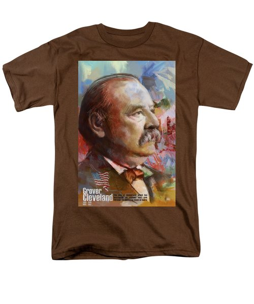Grover Cleveland T-Shirt by Corporate Art Task Force