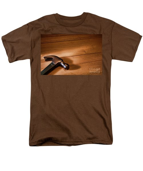 Hammer on Wood T-Shirt by Olivier Le Queinec