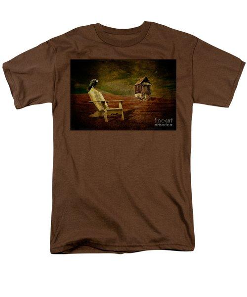 Hard Times Men's T-Shirt  (Regular Fit) by Lois Bryan