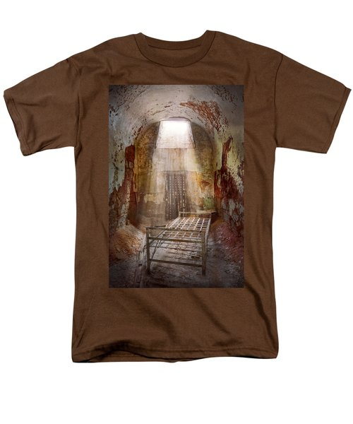 Jail - Eastern State Penitentiary - 50 years to life T-Shirt by Mike Savad