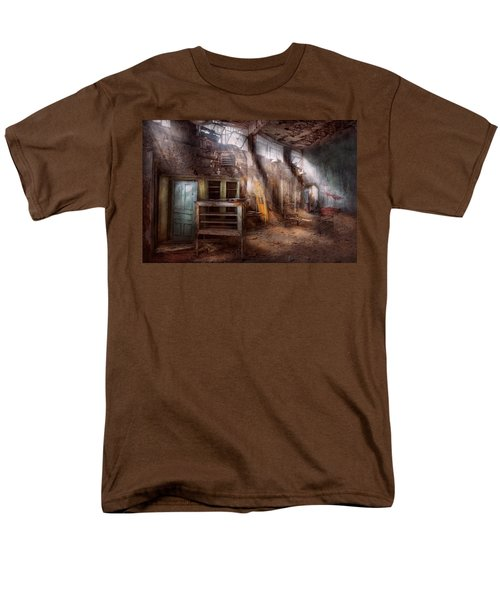 Jail - Eastern State Penitentiary - Sick Bay T-Shirt by Mike Savad