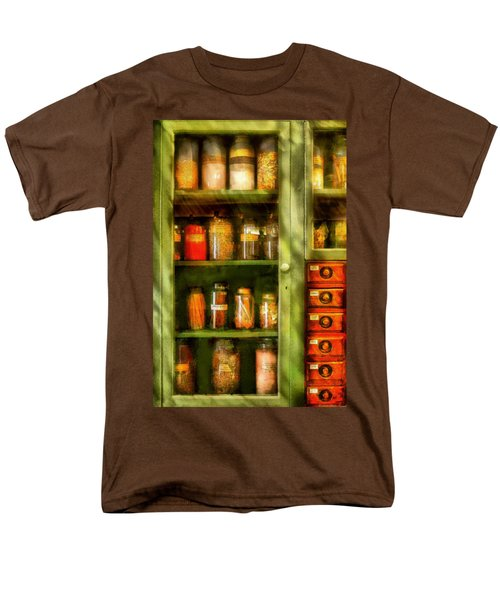 Jars - Ingredients II T-Shirt by Mike Savad