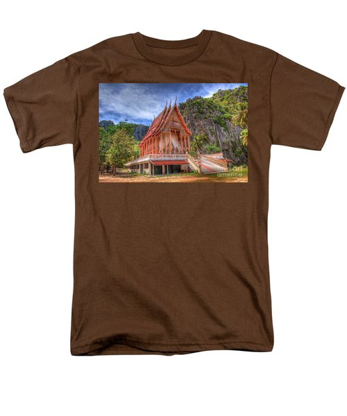 Jungle Temple v2 T-Shirt by Adrian Evans