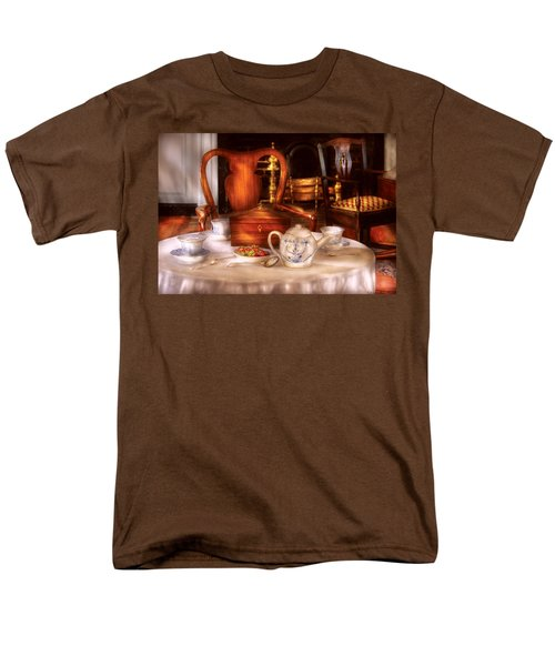 Kettle -  Have some Tea - Chinese tea set T-Shirt by Mike Savad