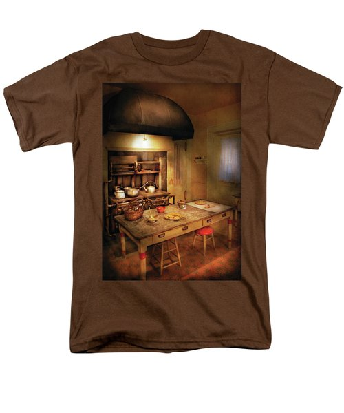 Kitchen - Granny's Stove T-Shirt by Mike Savad