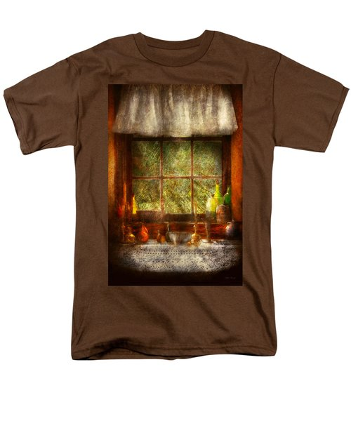 Kitchen - Table Setting T-Shirt by Mike Savad