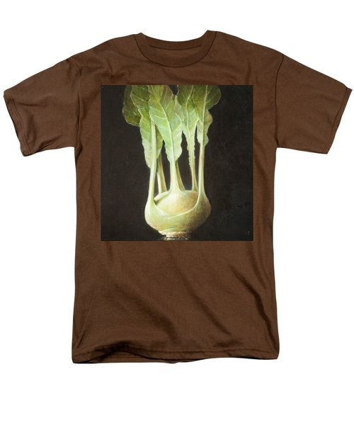 Kohl Rabi, 2012 Acrylic On Canvas Men's T-Shirt  (Regular Fit) by Lincoln Seligman