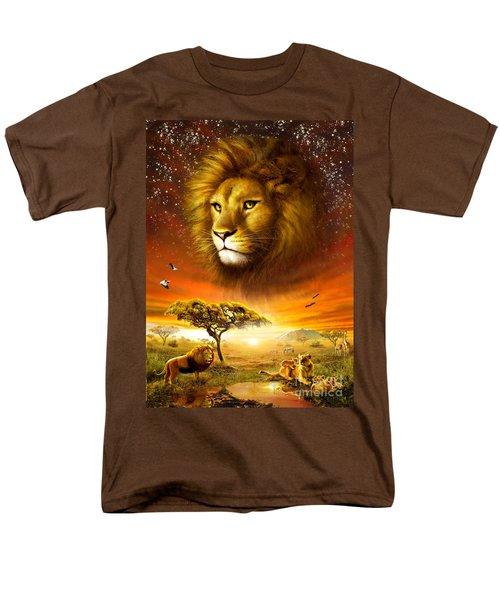 Lion Dawn T-Shirt by Adrian Chesterman