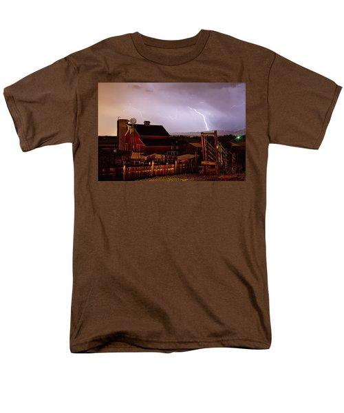 McIntosh Farm Lightning Thunderstorm T-Shirt by James BO  Insogna