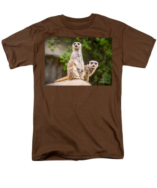 Meerkat Pair Men's T-Shirt  (Regular Fit) by Jamie Pham