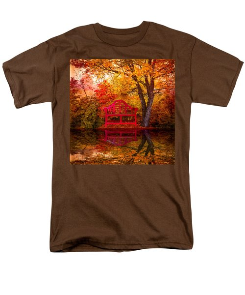 Meet Me at the Pond T-Shirt by Debra and Dave Vanderlaan
