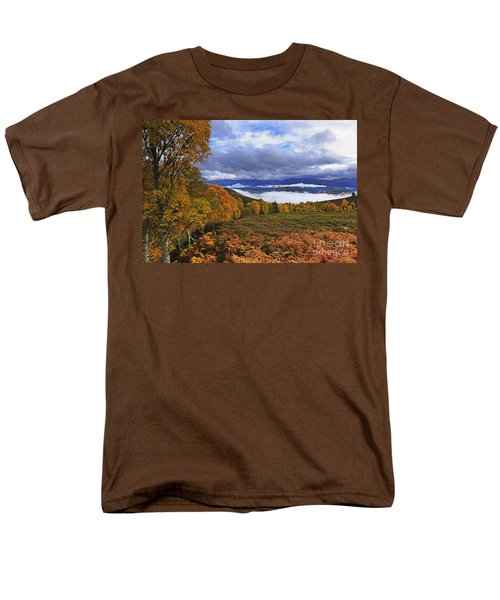 Misty day in the Cairngorms II T-Shirt by Louise Heusinkveld