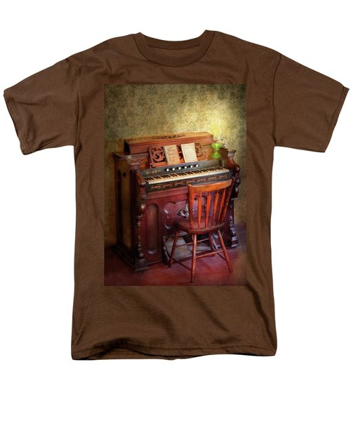 Music - Organist - Playing the songs of the gospel  T-Shirt by Mike Savad