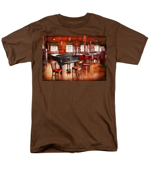 Music - Piano - The grand piano T-Shirt by Mike Savad