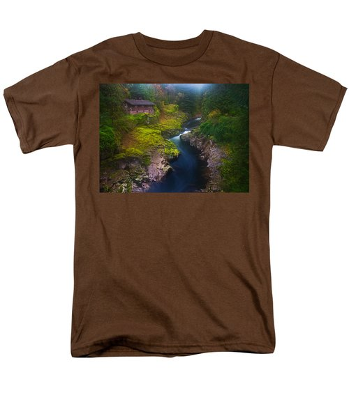 Mysteries of the Lewis House T-Shirt by Darren  White
