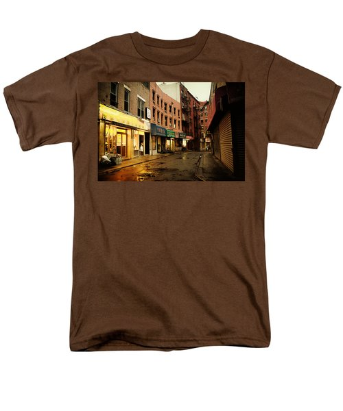 New York City - Rainy Afternoon - Doyers Street T-Shirt by Vivienne Gucwa