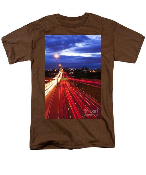 Night traffic T-Shirt by Elena Elisseeva