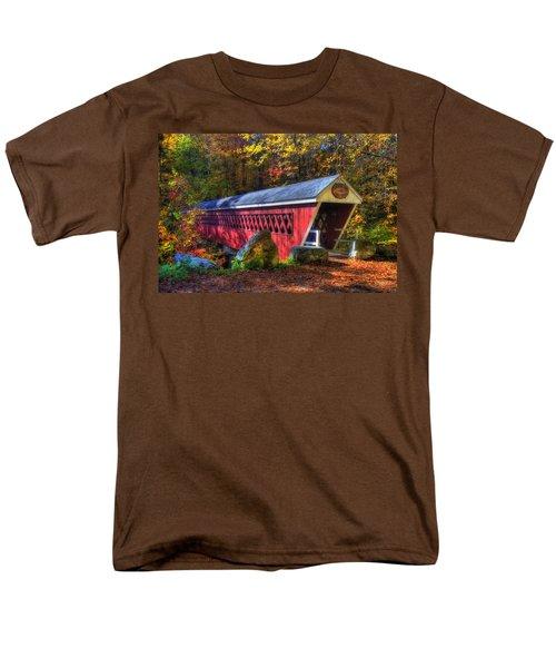 Nissitissit Bridge Brookline NH T-Shirt by Joann Vitali