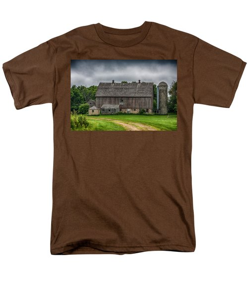 Old Barn On A Stormy Day T-Shirt by Paul Freidlund