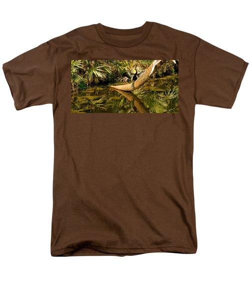 Oriental Darter Anhinga Melanogaster Men's T-Shirt  (Regular Fit) by Panoramic Images