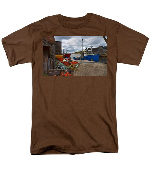 Peggy's Cove 18 T-Shirt by Betsy C  Knapp