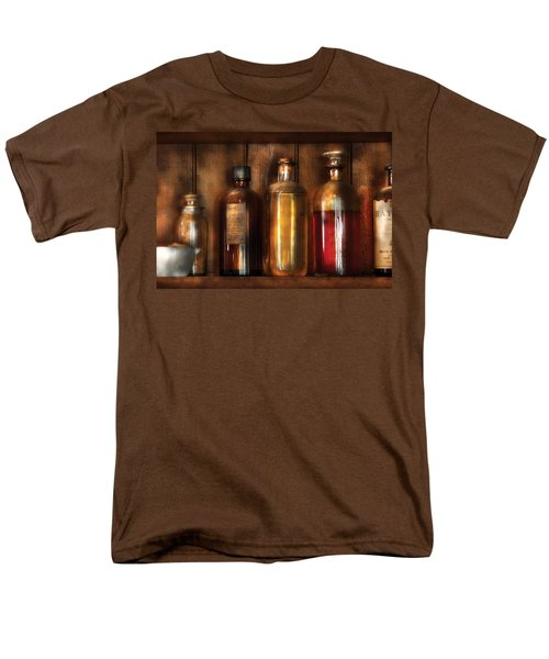 Pharmacist - Various Elixirs  T-Shirt by Mike Savad