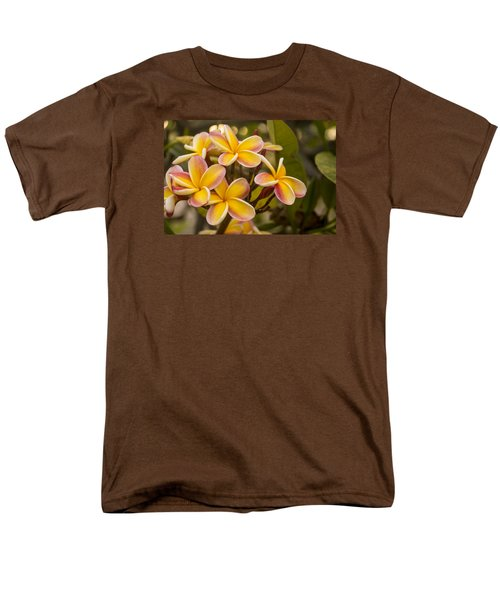 Pink and Yellow Plumeria 2 T-Shirt by Brian Harig