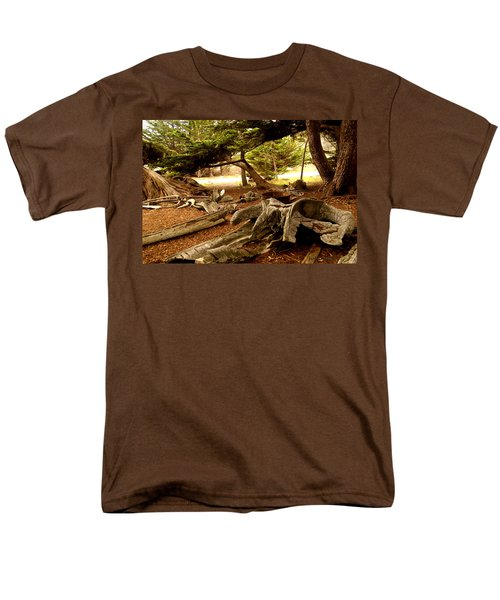 Point Lobos Whalers Cove Whale Bones T-Shirt by Barbara Snyder