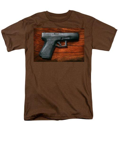 Police - Gun - The modern gun  T-Shirt by Mike Savad