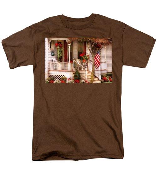 Porch - Americana T-Shirt by Mike Savad