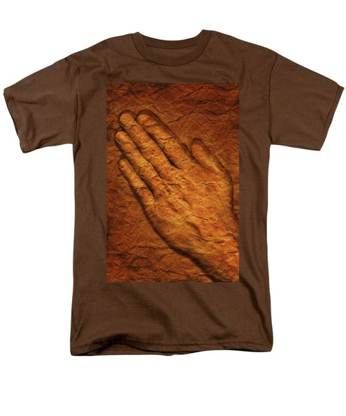 Praying Hands T-Shirt by Don Hammond