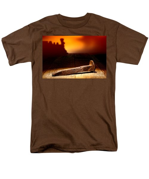 Railroad Spike T-Shirt by Olivier Le Queinec