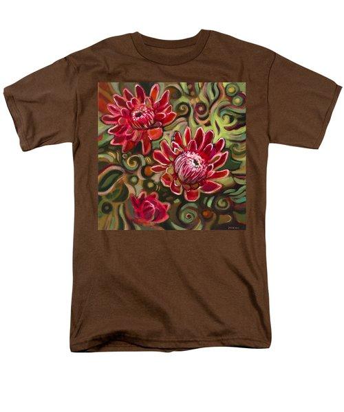 Red Proteas T-Shirt by Jen Norton