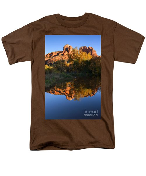 Red Rock Reflections T-Shirt by Mike  Dawson