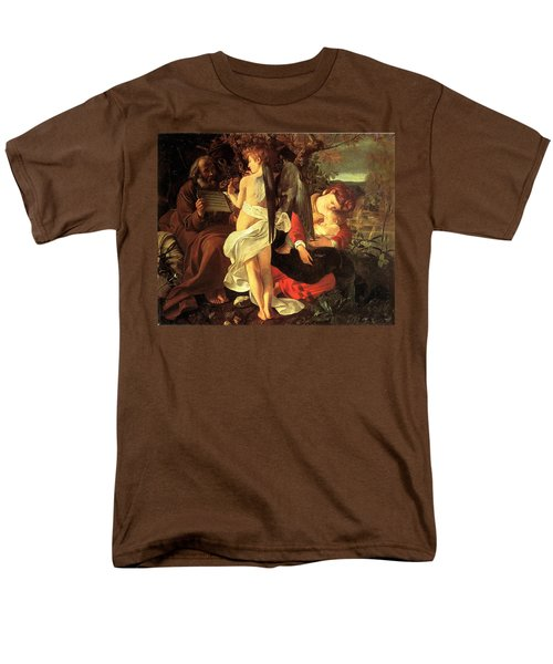 Rest on the Flight into Egypt T-Shirt by Caravaggio